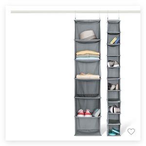 6 Fabric Organizer Shelves